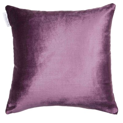 Castiglione Pillow Cover Color: Plum/Off White