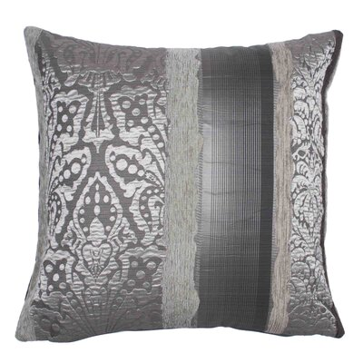 Chenonceau Pillow Cover Color: Gray