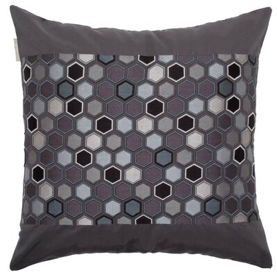 Honey Pillow Cover Color: Black