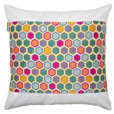 Honey Pillow Cover Color: Multi/Natural