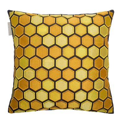 Honey Pillow Cover Color: Yellow/Green