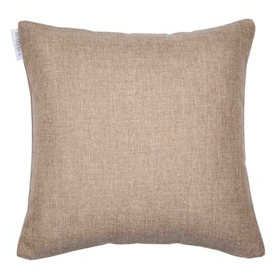 Cinnamon Pillow Cover Color: Light Beige