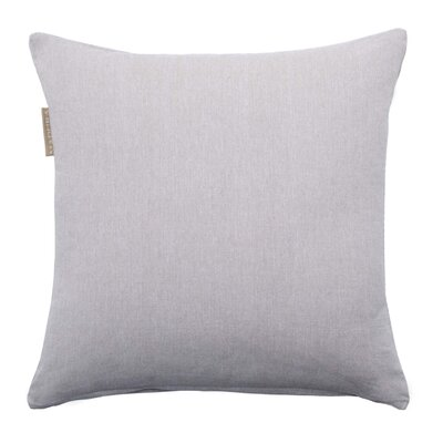 Campana Pillow Cover Color: Pale Gray