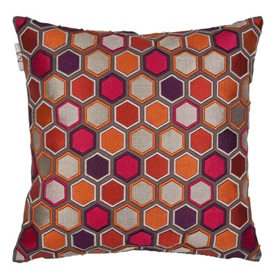 Honey Pillow Cover Color: Orange