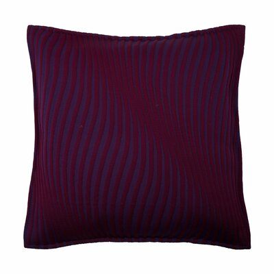 Infinity Pillow Cover Color: Deep Violet