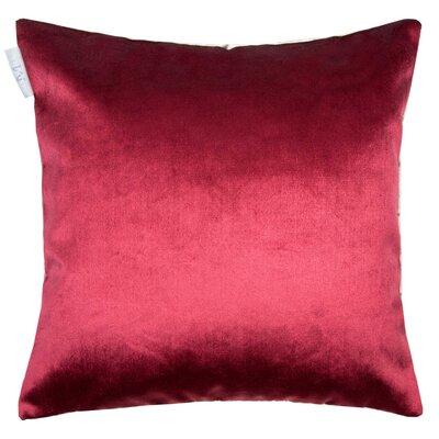 Castiglione Pillow Cover Color: Bright Red