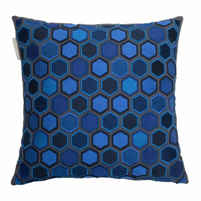 Honey Pillow Cover Color: Blue
