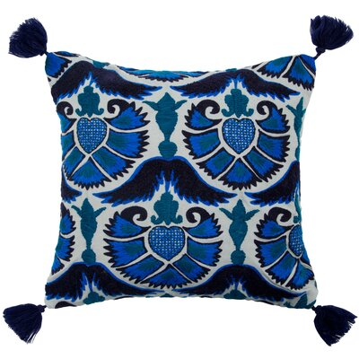 Jazzy Peacock Pillow Cover