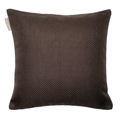 Coconut Pillow Cover Color: Dark Brown