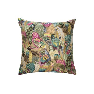 Jungle Birds Pillow Cover