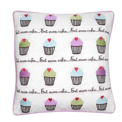 Cupcake Pillow Cover