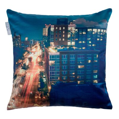 City Nights Pillow Cover