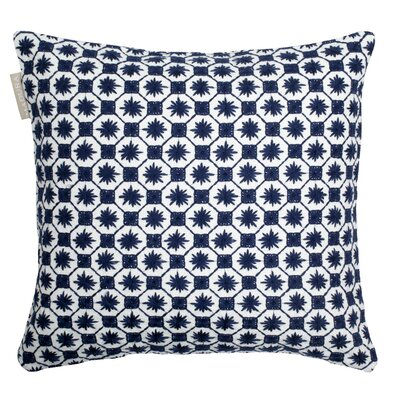 Coimbra Pillow Cover Color: Navy Blue