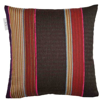 Lima Pillow Cover Color: Bright Red