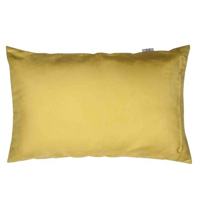 Montana Pillow Cover Color: Yellow, Size: 11.02 H x 18.33 W x 0.39 D