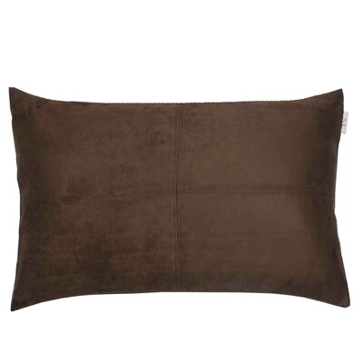 Montana Pillow Cover Color: Brown, Size: 11.02 H x 18.33 W x 0.39 D