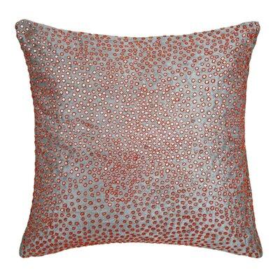 Galuxa Pillow Cover Color: Light Orange/Gray
