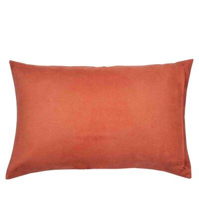 Montana Pillow Cover Size: 17.72 H x 27.3 W x 0.39 D, Color: Orange