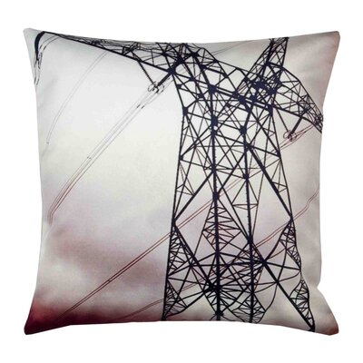 High Voltage Pillow Cover