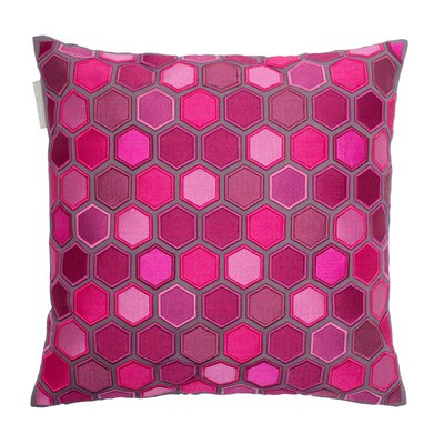 Honey Pillow Cover Color: Deep Pink