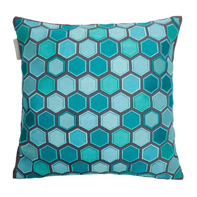 Honey Pillow Cover Color: Turquoise
