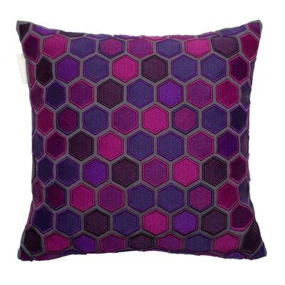 Honey Pillow Cover Color: Deep Violet