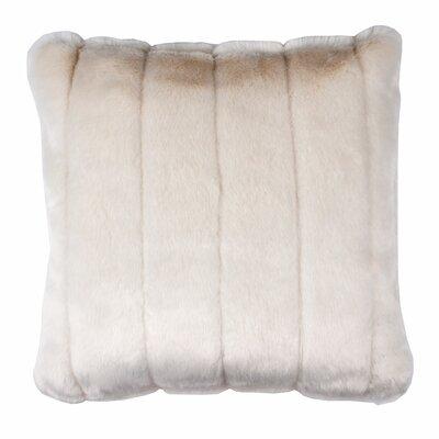 Nebraska Pillow Cover Size: 15.6 H x 15.75 W x 0.39 D, Color: Off White