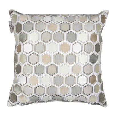 Honey Pillow Cover Color: Off White
