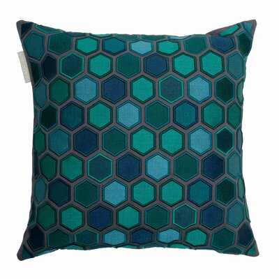 Honey Pillow Cover Color: Green