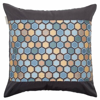 Honey Pillow Cover Color: Blue