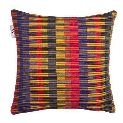 Lindberg Pillow Cover Color: Plum Red