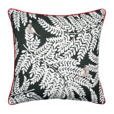 Laurel Pillow Cover Color: Dark Gray