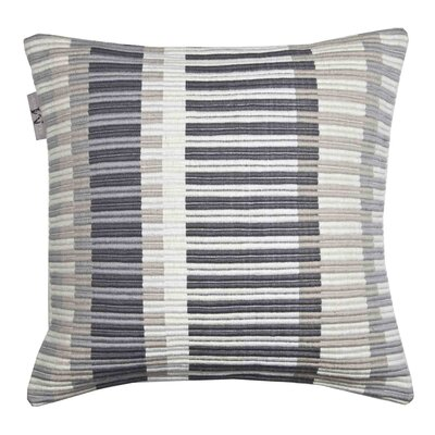 Lindberg Pillow Cover Color: Gray/Black