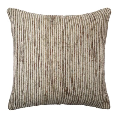 Murali Pillow Cover Color: Beige and White