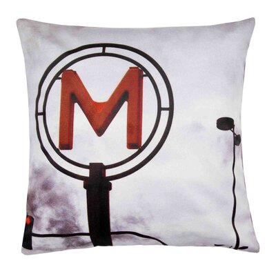 Metropolitain Pillow Cover
