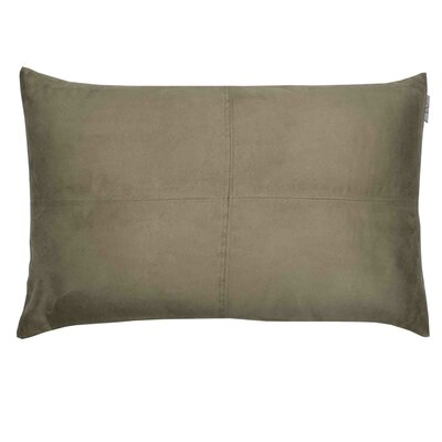 Montana Pillow Cover Size: 17.72 H x 27.3 W x 0.39 D, Color: Dark Gray