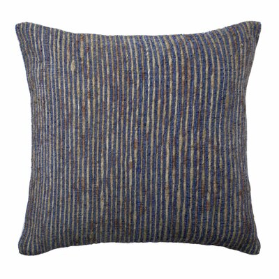 Murali Pillow Cover Color: Natural/Blue
