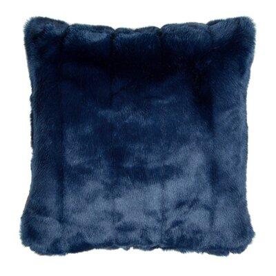 Nebraska Pillow Cover Color: Blue, Size: 23.4 H x 23.62 W x 0.39 D