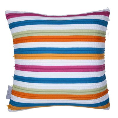 Sezame Pillow Cover Color: Plum Red