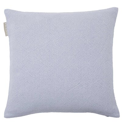 Stone Pillow Cover Color: Light Blue