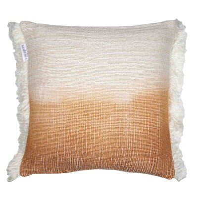 Tribal Pillow Cover Color: Orange