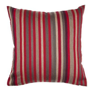 Veracruz Pillow Cover Color: Bright Red