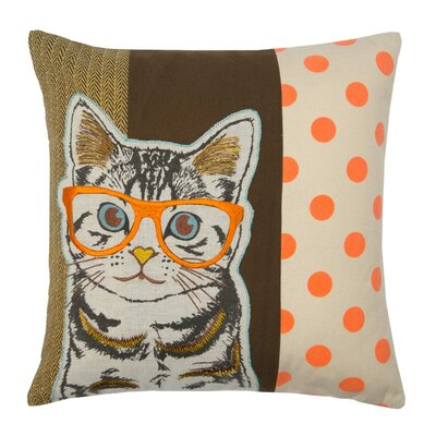 Wise Cat Pillow Cover