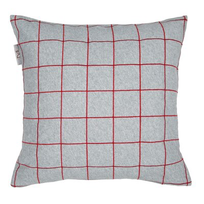 Workbook Pillow Cover Color: Gray