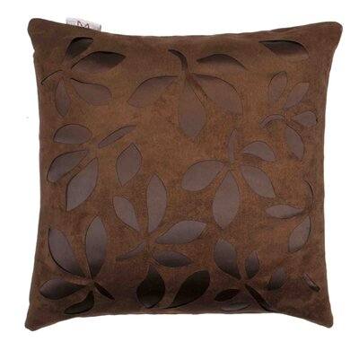 Week End 2 Pillow Cover Color: Brown
