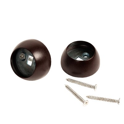 Alma Recess Bracket Recessed Trim Finish: Brown