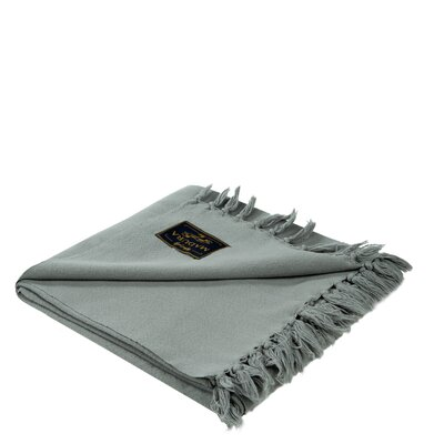 Amish Cotton Throw Color: Pale Gray