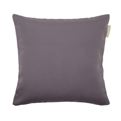 Outdoor Pillow Cover Color: Dark Gray, Size: 23.4 H x 23.62 W x 0.39 D