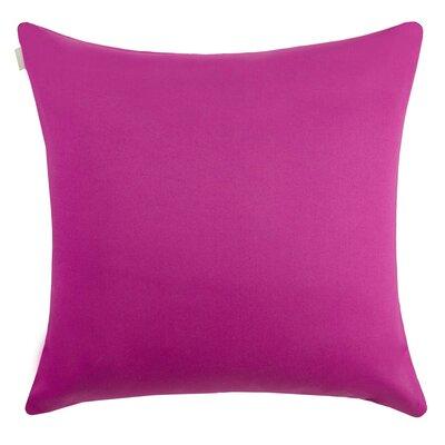 Outdoor Pillow Cover Size: 15.6 H x 15.75 W x 0.39 D, Color: Deep Violet