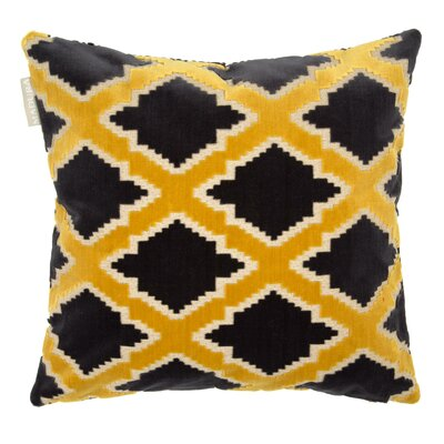 Rambagh Pillow Cover Color: Mustard